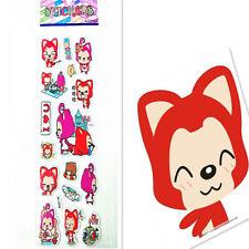 Red Fox Stickers Kid Party 1PCS PVC Gift Toy Teacher Reward Gifts Handmade @@