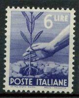Italia Repubblica 1945 Sass. 556 Nuovo ** 100% Democratica
