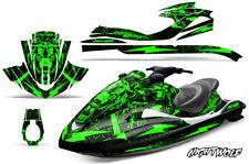 Jet Ski Graphic Kit Decal Wrap For Yamaha Wave Runner FX140 02-05 NIGHTWOLF GRN