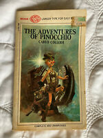 1968 The Adventures Of Pinocchio Book by Carlo Collodi