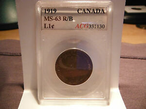 1919 Large One Cent