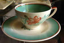 Art Deco Susie Cooper Handpainted Cup and Saucer