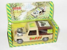 Renault 6 Rodeo - Safari - Large Plastic Friction Toy - Made in GDR