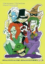 Batman Bat Man Doujinshi Dojinshi Comic the Joker Two-Face Harley Quinn Crazy Da