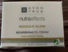 NEW Avon True Nutraeffects Miracle Glow Nourishing Oil Cream - Non Greasy Finish
