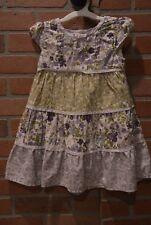 Gymboree Cowgirls at Heart Floral Print Dress 2T Purple & Green Flowers Sundress