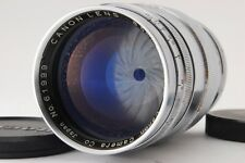 [Exc+++++] Canon 85mm F/1.9 Leica Screw Mount LTM L39 Lens From Japan #273
