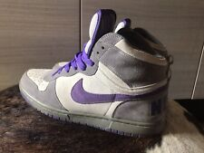 Nike Dunk High In Purple Pigeon Colorway Size UK9, EU44.
