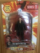 Dr Who Series 1 The Ninth Doctor Figure with Auton Arm Mickey Head unopened