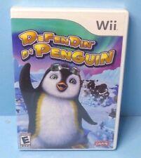 Defendin' De Penguin (Nintendo Wii, 2008) - Strategy Game BRAND NEW