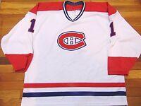 VINTAGE CCM MASKA NHL MONTREAL CANADIENS JACQUES PLANTE JERSEY SIZE 2XL ff1ca0ec4