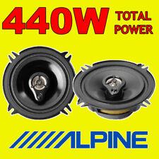 """ALPINE 440W TOTAL POWER 3WAY 13cm/5.25"""" SXE/SXV CAR/VAN DOOR SHELF SPEAKERS"""