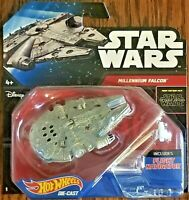 Disney Hot Wheels Star Wars Starship Millennium Falcon with Flight Navigation
