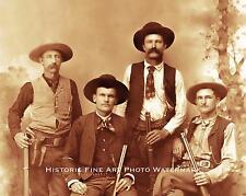 TEXAS RANGERS VINTAGE PHOTO OLD WEST LAWMEN 1890 8x10 #21899