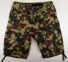 G-Star Raw, Rovic Loose 1/2 Size W33, Cargo Shorts Camouflage Bermuda Shorts New