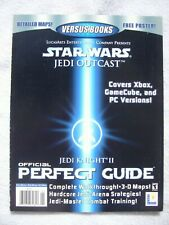 STAR WARS Jedi Knight II Outcast Lösungsbuch PERFECT GUIDE Versus XBOX GameCube