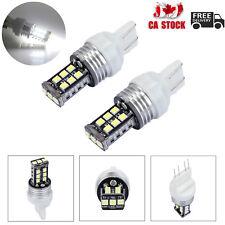2X T20 7443 15LED Car Brake Stop Tail Light Bulb 12V Dual Filament Bright White