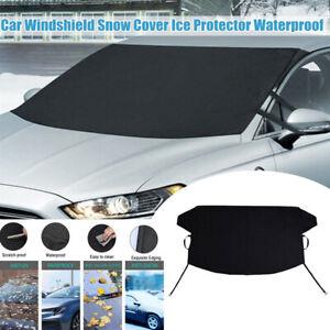 Car Windscreen Windshield Frost Cover Ice Snow Shield Rain Resistant Sun Shield