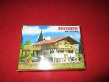 VOLLMER® H0 3846 Chalet Alpenrose mit Carport NEU OVP