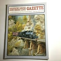 Narrow Gauge and Short Line Gazette Magazine July/Aug 2000 Vol 26 No 3