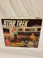 Star Trek U.S.S. Enterprise Command Bridge Model Kit AMT/ERTL 1991 Aus Seller