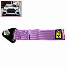 2 Tons Car Tow Cable Towing Strap Rope Purple with Screw,Nut