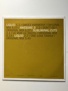 Liquid - Sweet Harmony, Awesome 3 - Don't Go, Subliminal Cuts. House