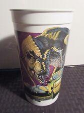 1992 McDonalds JURASSIC PARK T-Rex Tyrannosaurus Rex Cup VF 8.0