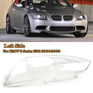 Left Headlight Headlamp Lens Cover for BMW E92 E93 Coupe M3 328i 335i 2006-2009