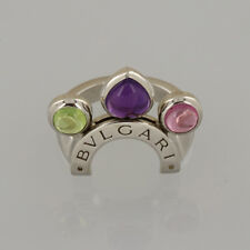 Bvlgari Multi Gemstone Allegra Ring Size J 1/2