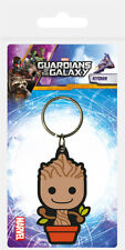 GUARDIANS OF THE GALAXY BABY GROOT RUBBER KEYRING NEW OFFICIAL MERCHANDISE