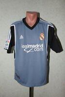 Real Madrid Football Shirt Jersey Soccer Camiseta Adidas 2001 2002 Third Size M