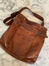 Mui Mui Brown Leather Satchel Bag Mens Crossbody