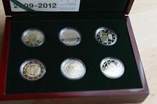 2 Euro - 2009-2012 - Luxemburg - Sondermünzen - limitiert - Etui - PP