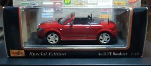 1/18 Audi TT Roadster (Special Edition)