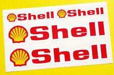 Shell Style Moto Motocicleta Horquilla y fairning Calcomanías Pegatinas