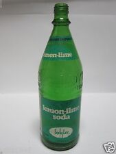 LADY LEE 1978 GLASS BOTTLE LITER 33.8 OZ LEMON LIME LUCKY MARKET GROCERY STORE