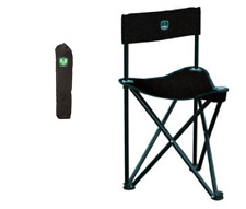 BC100 NEW Barronett Folding Tripod Black Ground Blind Chair With Carry Bag