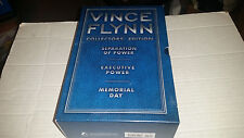 Vince Flynn Collector's Edition Volume 2 SIGNED HC 1st/1st 3 Books 2010 Blue