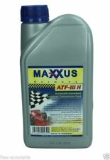 Maxxus 1l Steering Gear Oil Hydraulic Atf III H Red Ford VW Mercedes Man Volvo