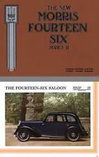 Morris 1936 - The New Morris Fourteen Six Series II