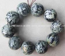 20mm Natural Color Jasper Round Loose Beads 10 PCS