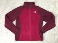 The North Face Pink True Berry Full Zip Sweatshirt Jacket Womens Size S Small