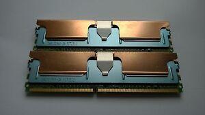 MICRON / SAMSUNG 8GB (2x4GB) PC2-5300F DDR2 667MHZ FULLY BUFFERED ECC