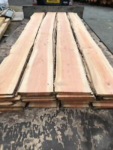 Waney Edge Cladding, Larch/Douglas  3.6m long, Fast/Free Delivery, Feather edge