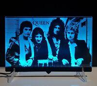 Queen Freddie Mercury lampada 30x20 luce notturna 3D Acrylic Night Light Lamp