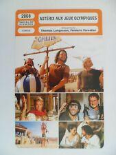 CARTE FICHE CINEMA 2008 ASTERIX AUX JEUX OLYMPIQUES Clovis Cornillac Gérard Depa