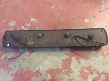 Mgb Rear Number Plate Mounting Plate And Lights