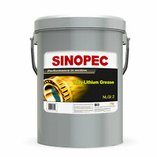 Sinopec Moly Extreme Pressure Lithium Grease #2 - 35LB. (5 Gallon) Pail
