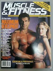 VINTAGE JOE WEIDER'S MUSCLE & FITNESS MAGAZINE   March 1993